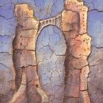 24 - Felsentor 121x97, 1999