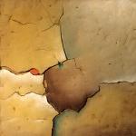 39 - Erde, 45x45, 2001