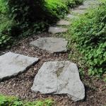 Trittsteinweg, Granit